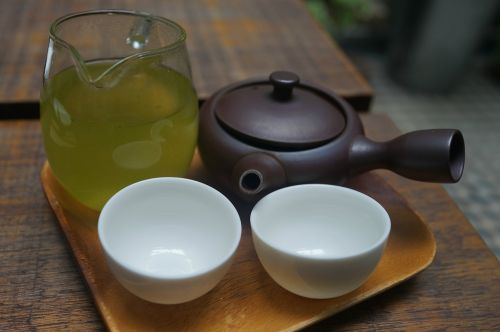 green tea tea for two drink
