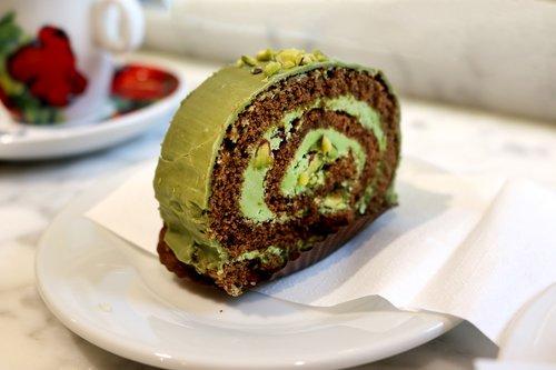 green tea cake  cake  desert