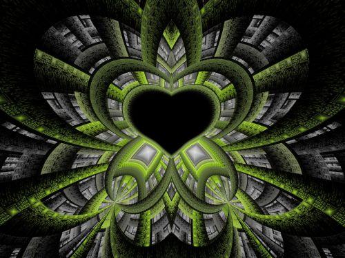 Green Tech Heart