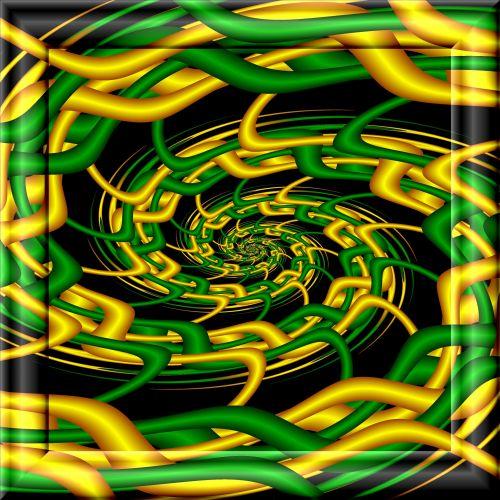 Green Yellow Vortex