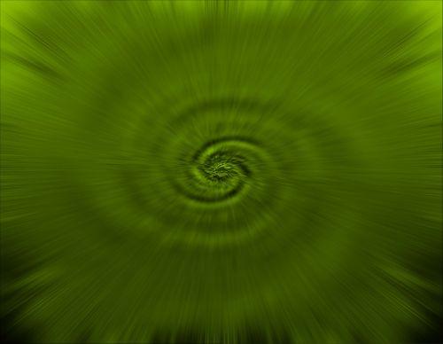 Green Zoom Swirl