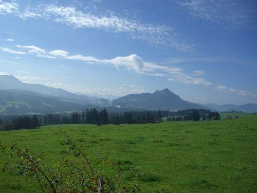 greened ellegghoehe mountain meadow