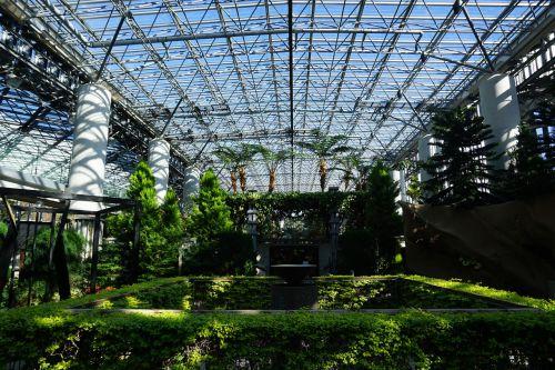 greenhouse garden botany