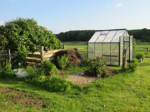 greenhouse allotment garden shed