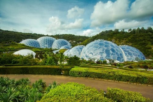 greenhouse eden project cornwall