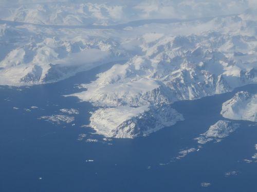 greenland eternal ice polar region