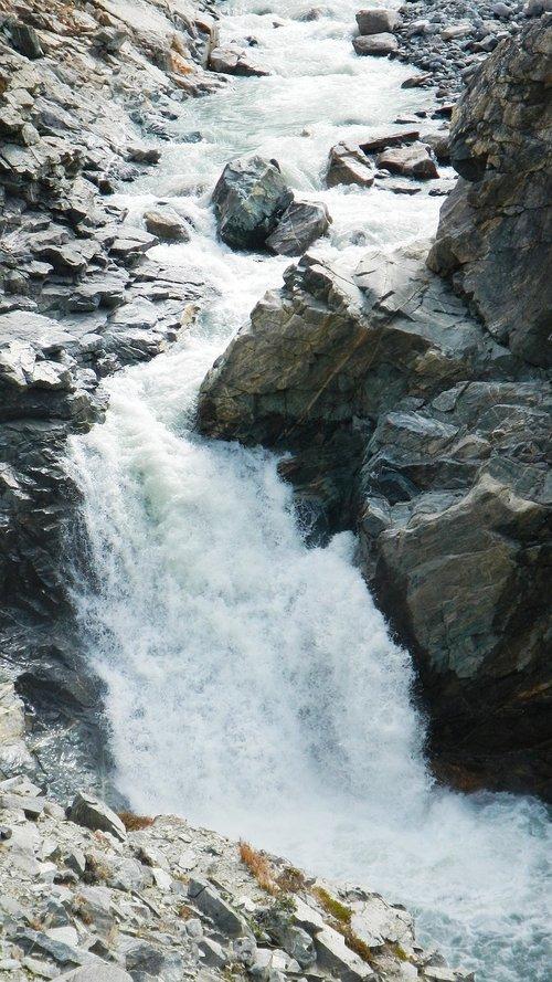 greenland  torrent  fjord
