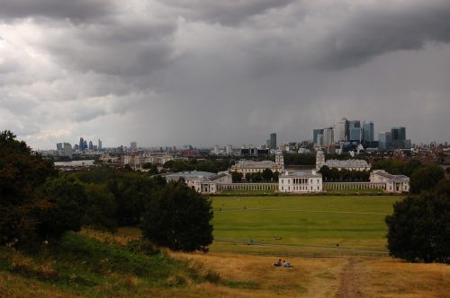 greenwich clouds a storm is brewing
