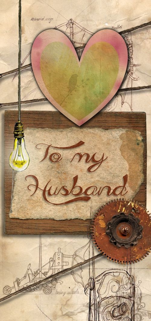 greeting card husband
