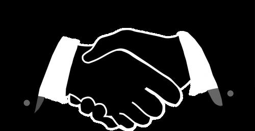 greeting hands handshake