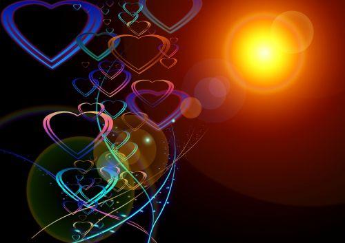 greeting card heart love