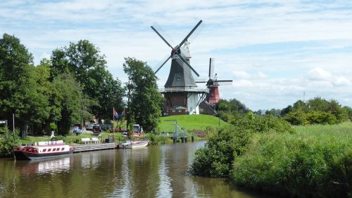 greetsiel east frisia windmill