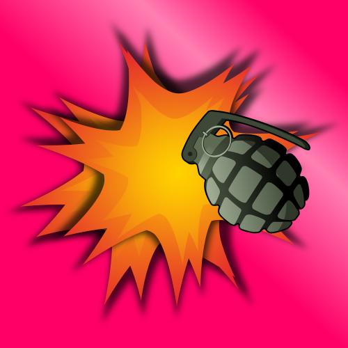 grenade aggression army