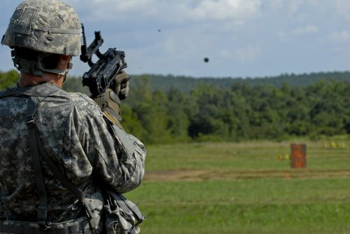 grenade launcher army united states army