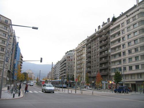 grenoble grands boulevards avenue