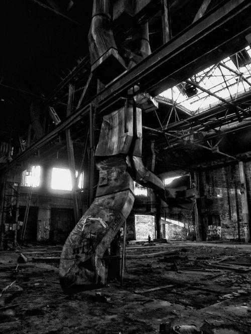 grey dark factory