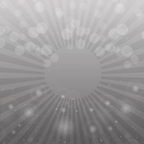 Grey Blend Bokeh Light Background