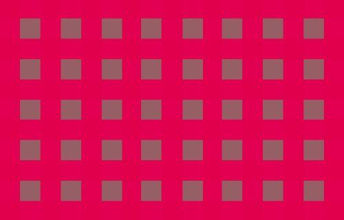 Grey Blocks On Intense Pink