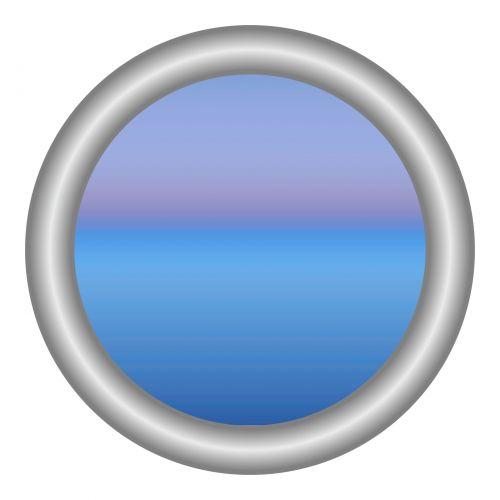 Grey Circle Frame