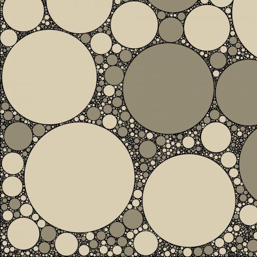 Grey Circles 5