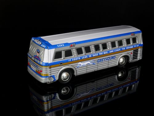 greyhound bus toys