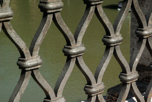 grid protection wrought iron