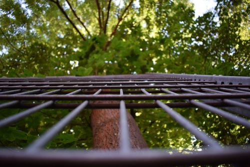 grid nature fence