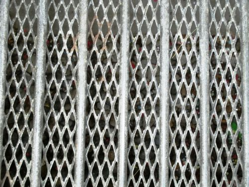 grid bars stainless
