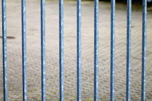 grid goal iron railings