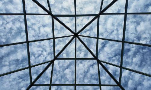 grid sky clouds