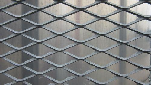 grid metal drawn