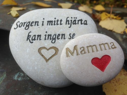 grief missing stone