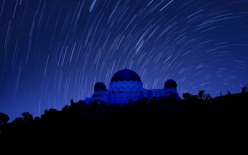 griffith observatory night photography los angeles