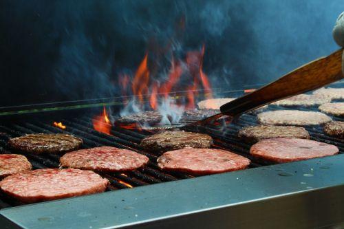 grill fire smoke