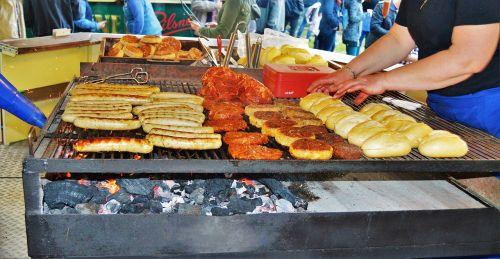 grill folk festival grilling