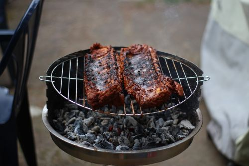 grill spare ribs summer