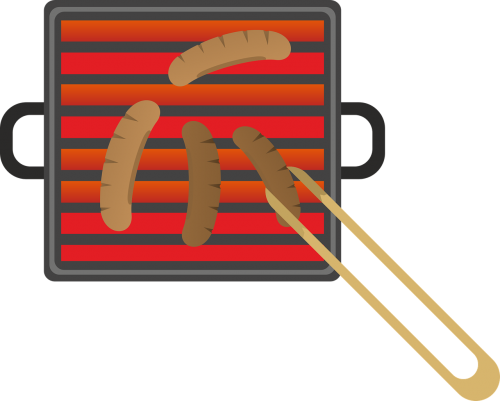 grill barbecue sausage