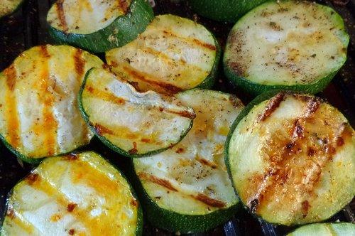 grill  zucchini  food