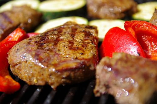 grill steak barbecue