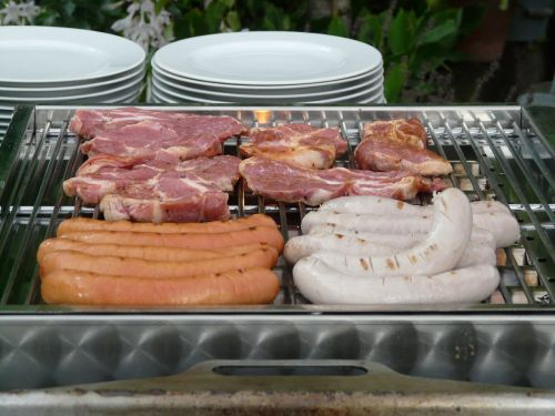 grill meat sausage