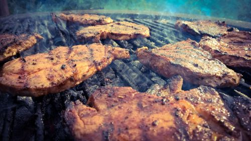 grill meat summer