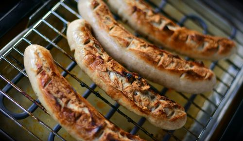 grill sausage barbecue grilling