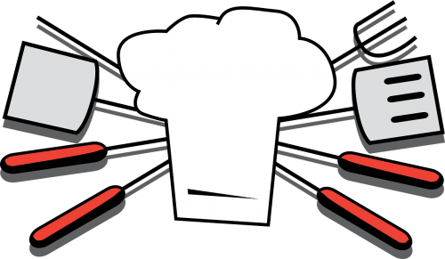 grilling tools chef hat