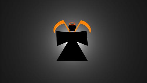 grim reaper death orange