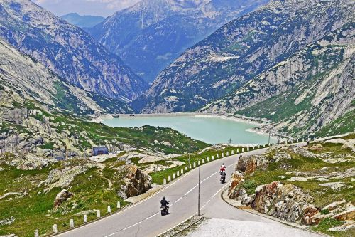 grimsel pass grimselsee pass road