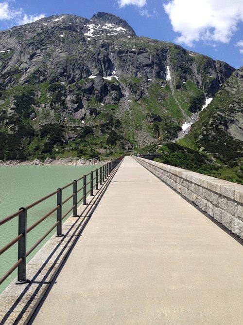 grimsel pass  alpine  mountains