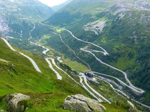 grimsel pass pass road drive