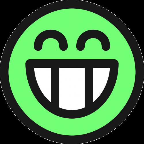 grin smiley emotion
