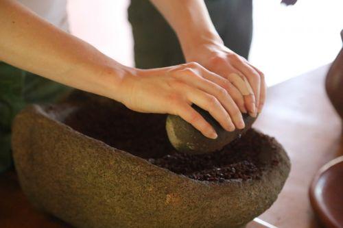 grinding natural baking