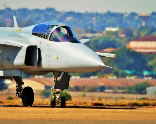 Gripen Fighter Jet